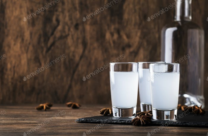 Ouzo - Greek anise brandy
