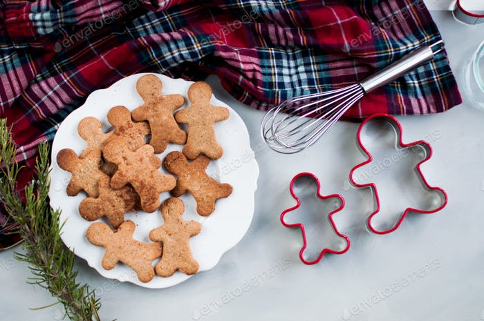 Ginger cookie for christmas