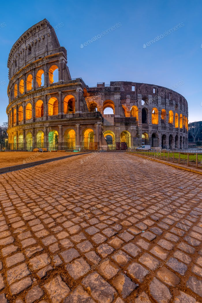 The famous Colosseum