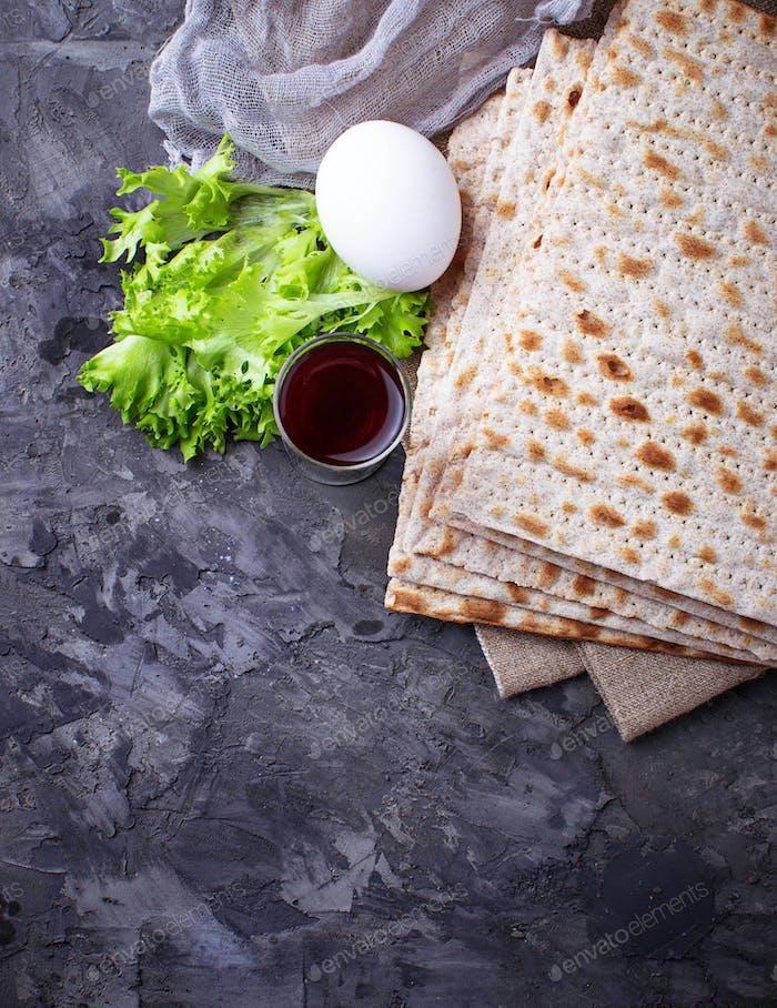 Concepto de la celebración judía tradicional de Pascua
