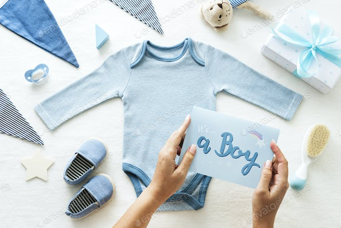 A Boy Baby Shower