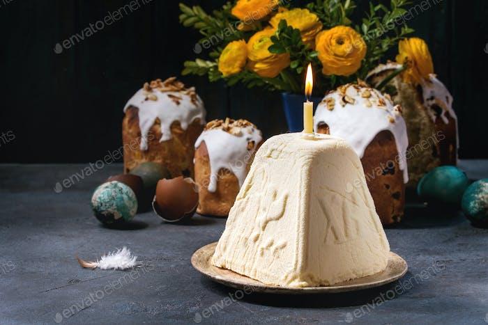 Hüttenkäse Dessert Paskha