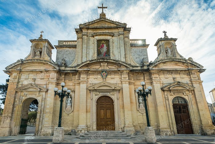 Parish Church of St Paul & Grotto Of St Paul,Rabat,Malta
