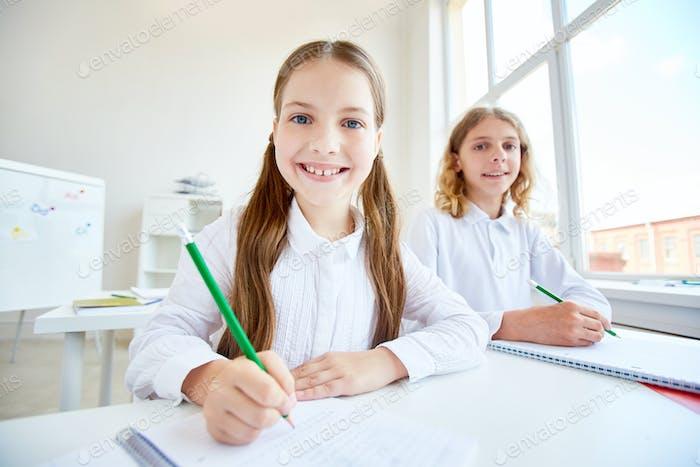 Klassenkameraden zeichnen