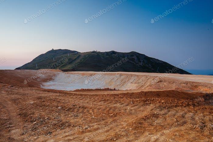 Mt Buller Dam Construction in Australia