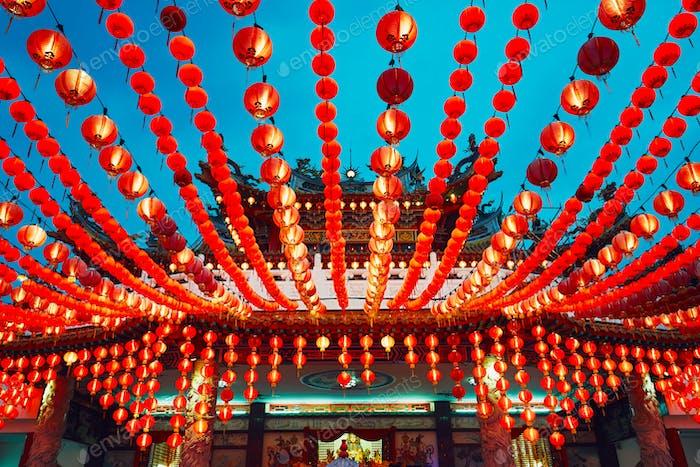 Chinese temple in Kuala Lumpur