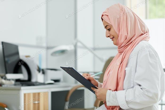 Middle-Eastern female Nurse