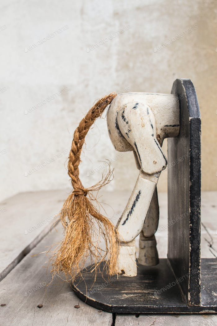 Bookmark the wooden horse