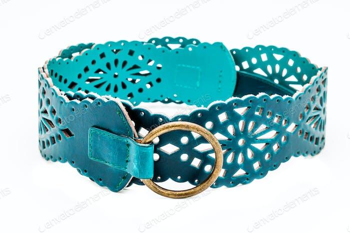 Green women belts