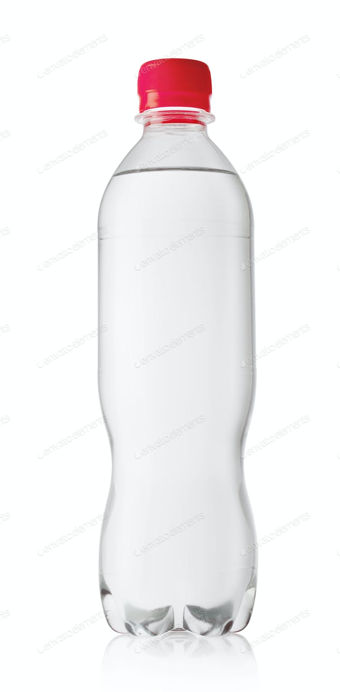 Bottle of pure mineral water