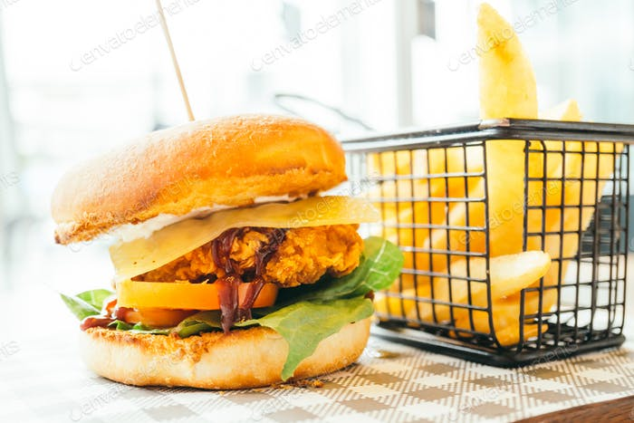 Chicken hamburger