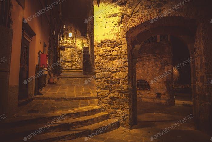 Night Walk in Porto Venere