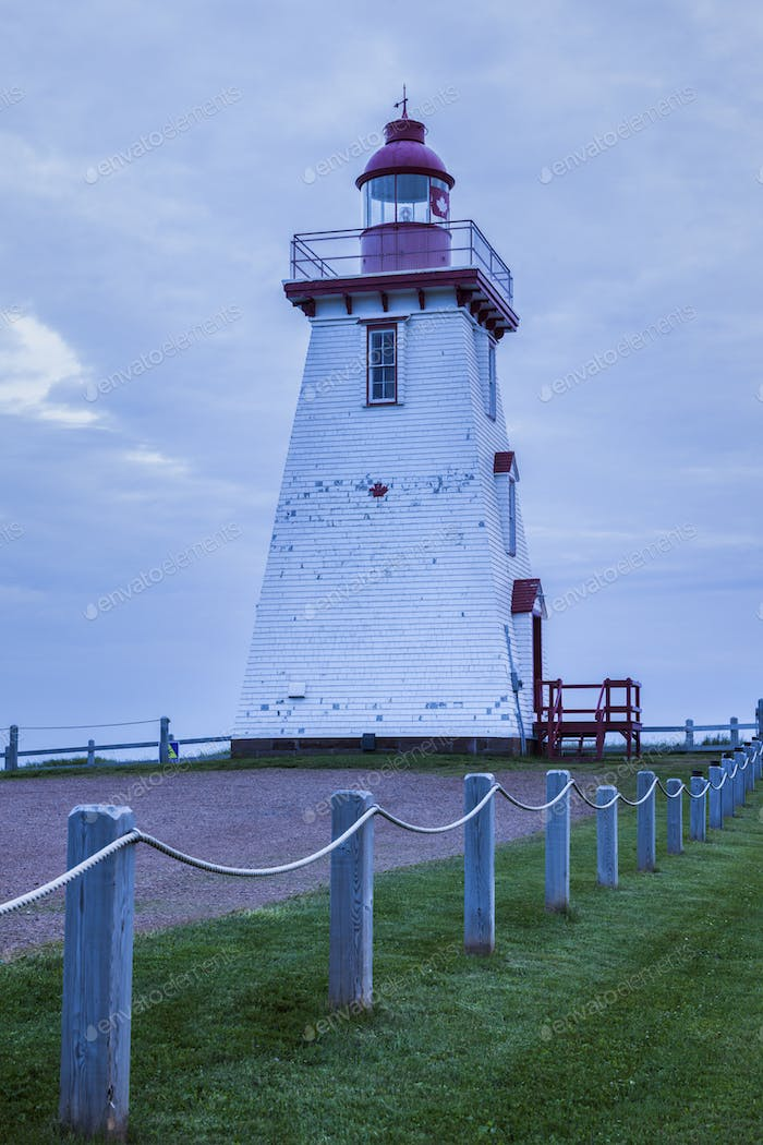 Souris East Leuchtturm in Kanada