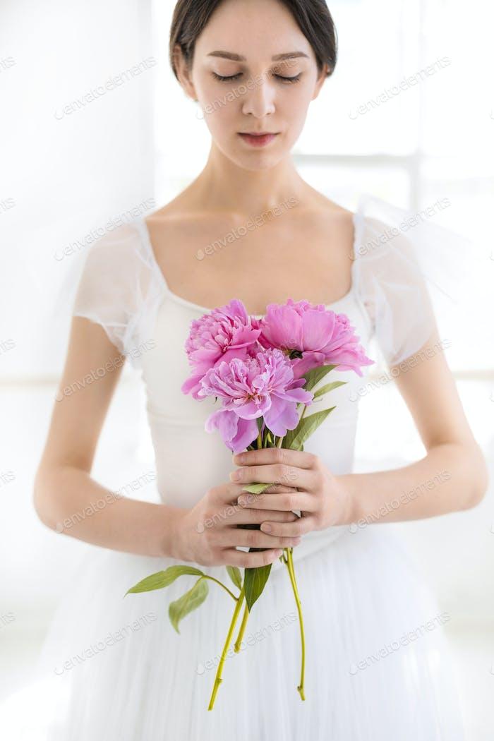 Porträt einer jungen Braut
