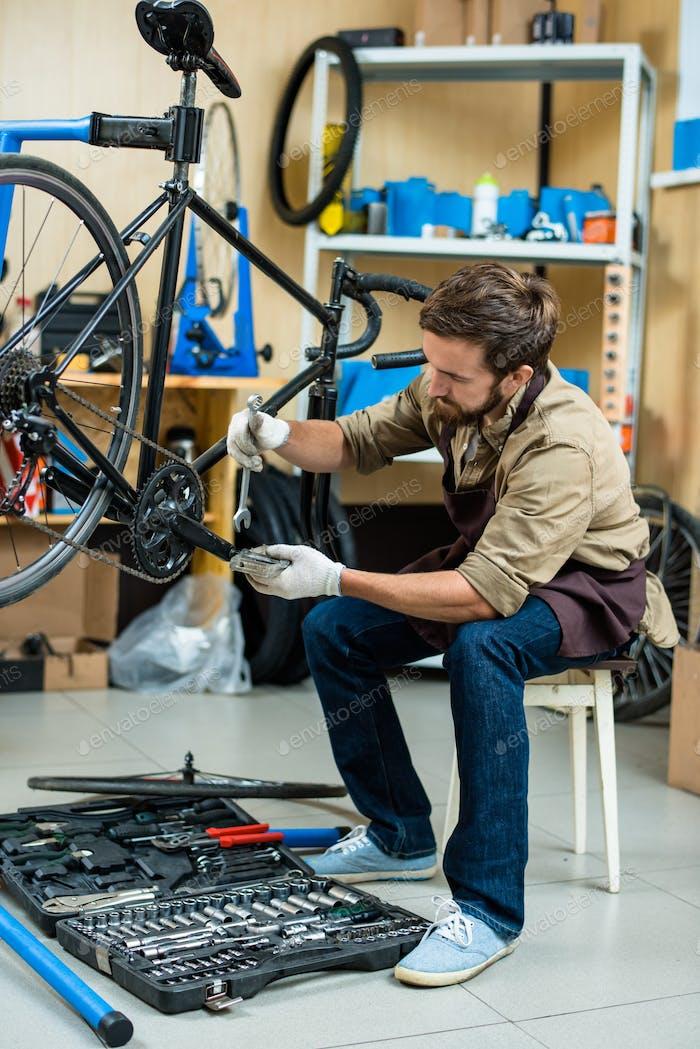 Repairing pedal
