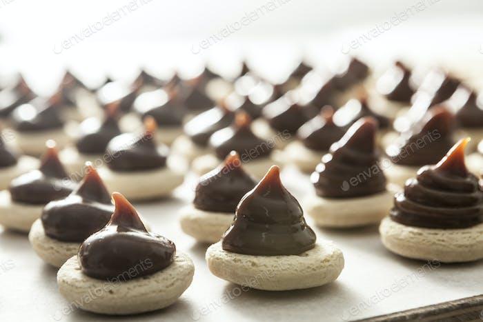 Leckere Süßigkeiten Nahaufnahme