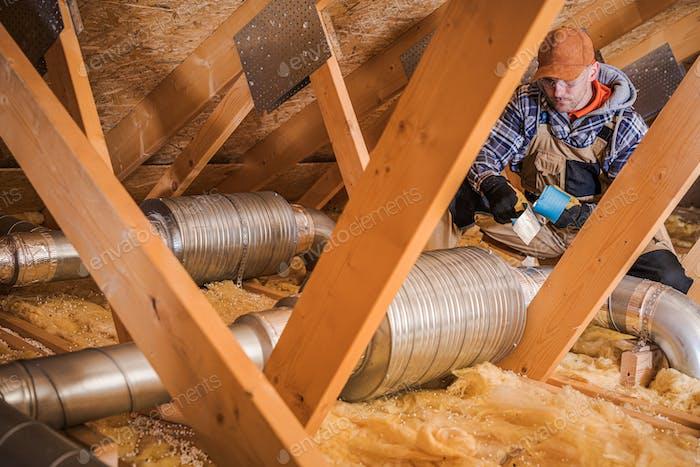 Air Ventilation Insulating Job