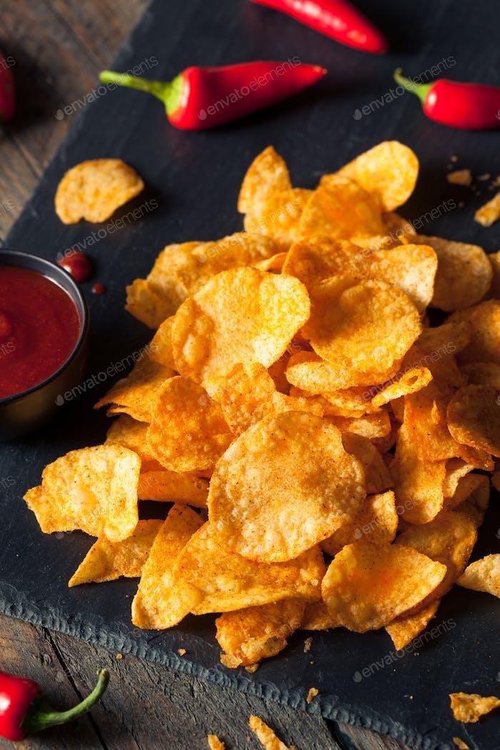 Hot Spicy Sriracha Potato Chips