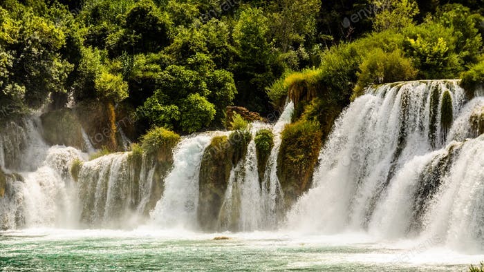 Waterfalls europe croatia travel location