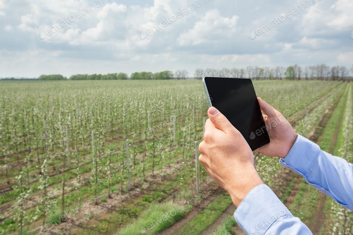 Smart gardening, farming and modern technology for agricultural