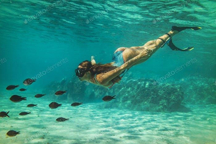 Enjoying Deep Waters