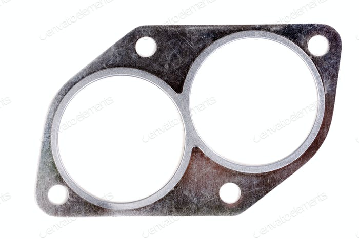 Exhaust manifold gasket for an automobile