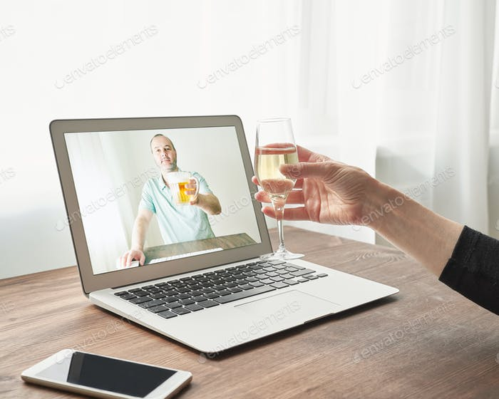 Online Dating at distance during quarantine and self-isolation.