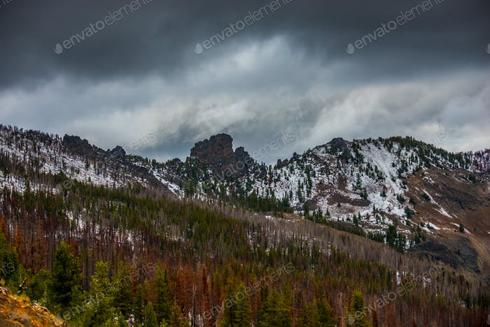 Strawberry Mountains Wilderness Malher National Forest