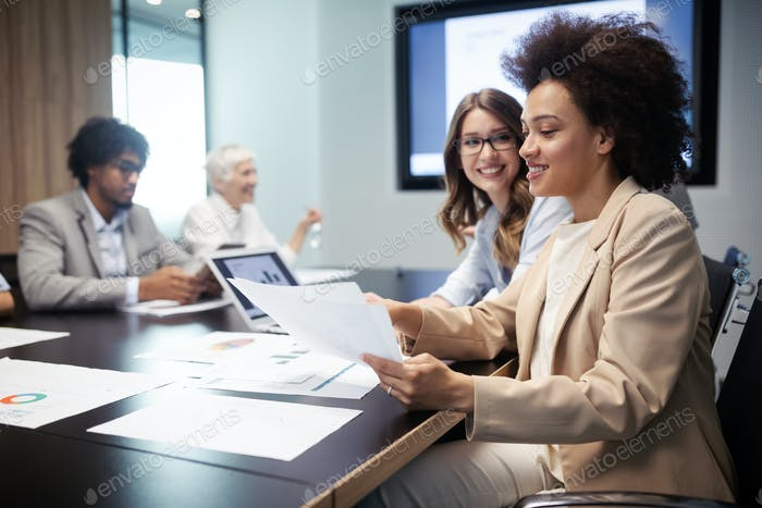 Meeting Unternehmens- Success Business Brainstorming Teamwork-Konzept