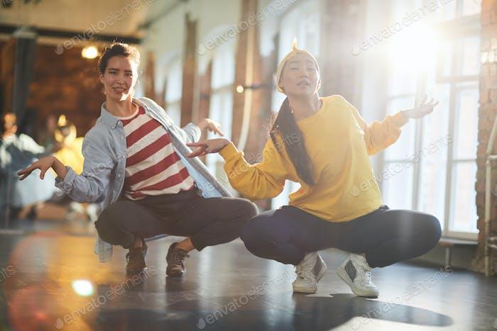 Breakdance exercise