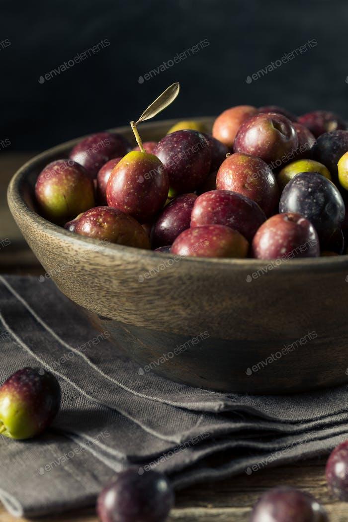 Raw Fresh Organic Greek Olives