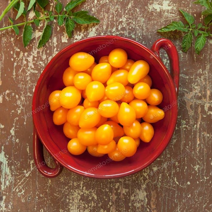 Bio gelbe Kirschtomaten