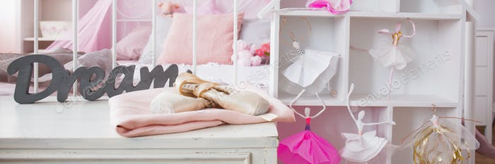Shelf and doll house