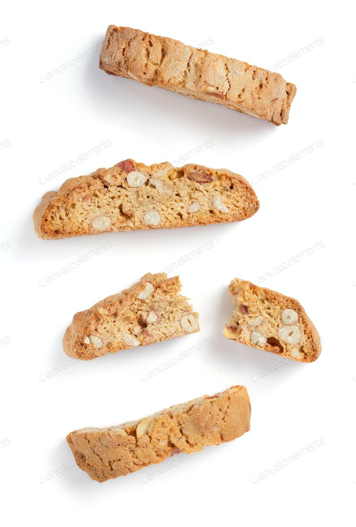 Cookies isoliert auf weiß