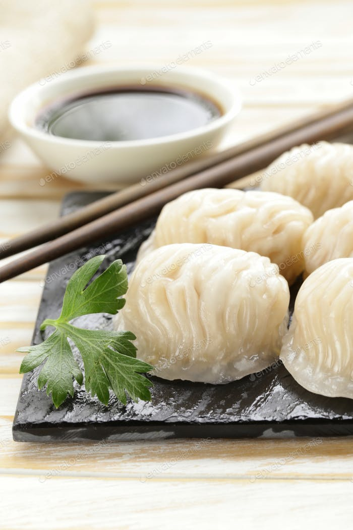 Asian Steamed Meat Dumplings