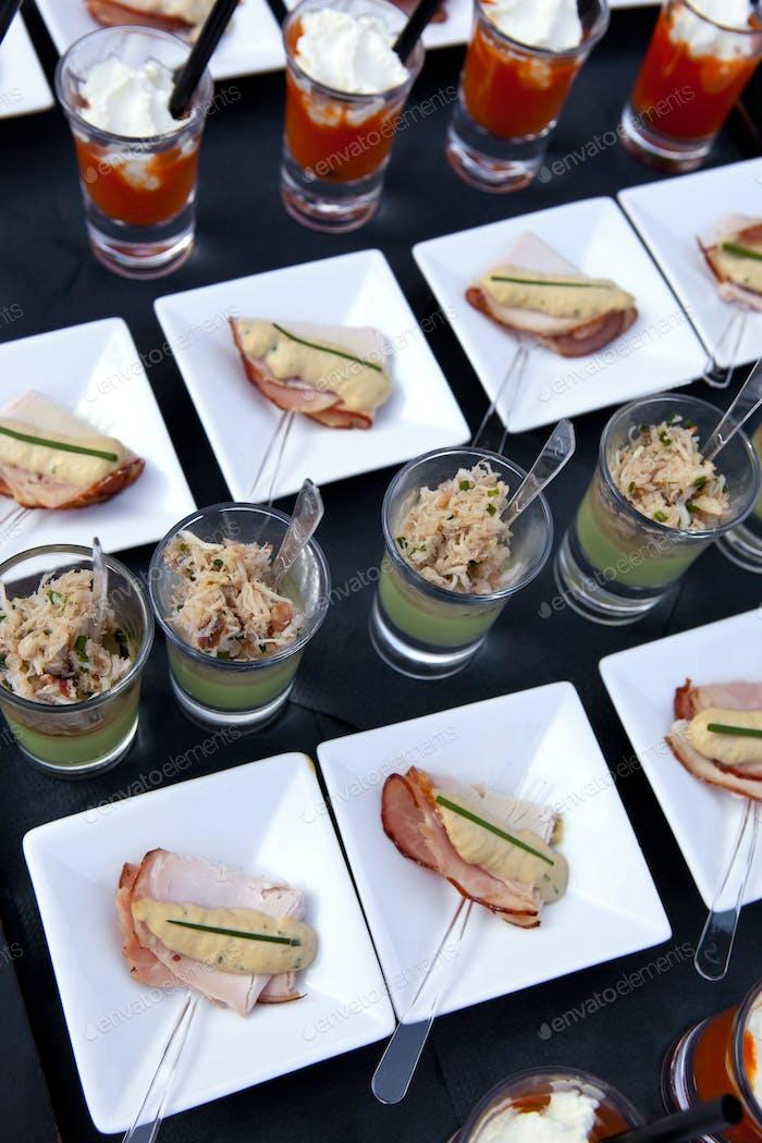 Cocktail buffet