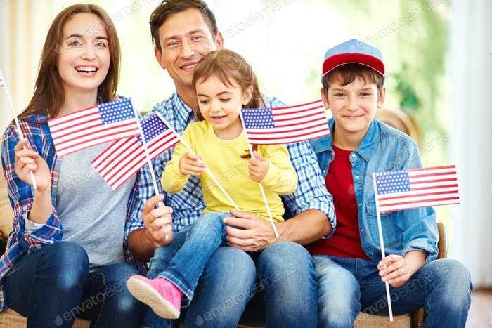 Familia americana