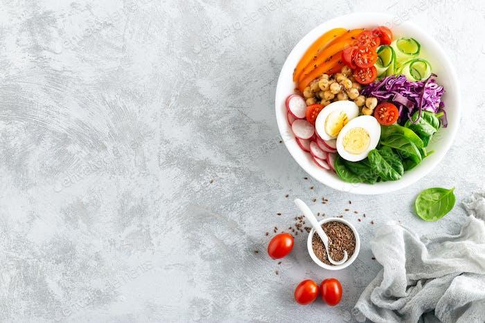 Buddha-Schüssel Salat