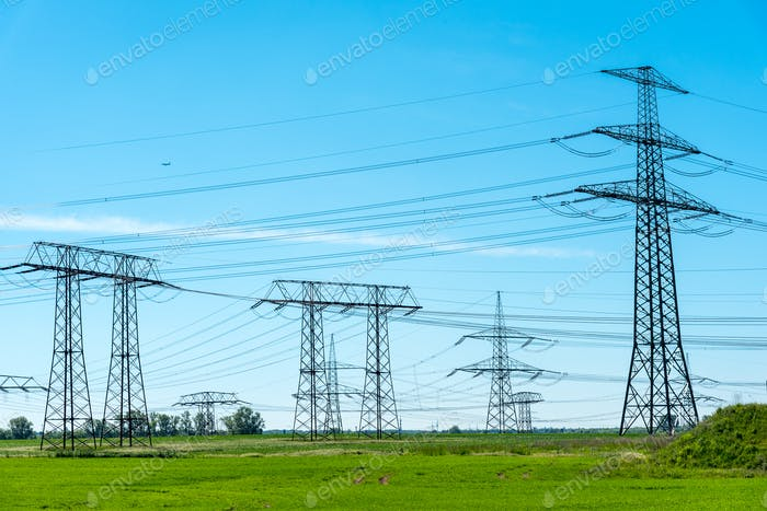 Transmission cables and towers