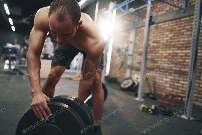 Preparation for the barbell lifting