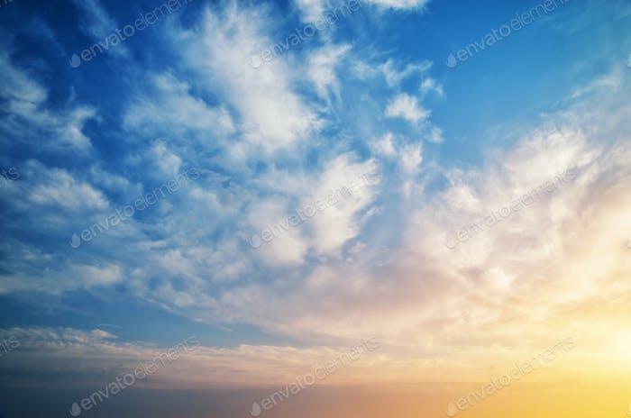Fondo cielo