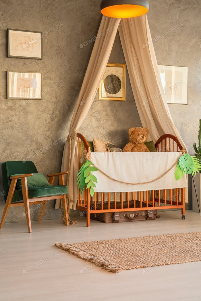 Cozy baby bedroom