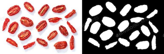 Sundried  s. marzano roma tomatoes, top