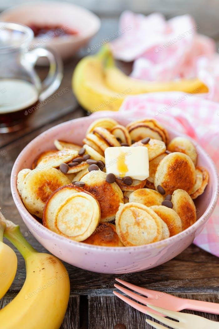 Pfannkuchen Müsli