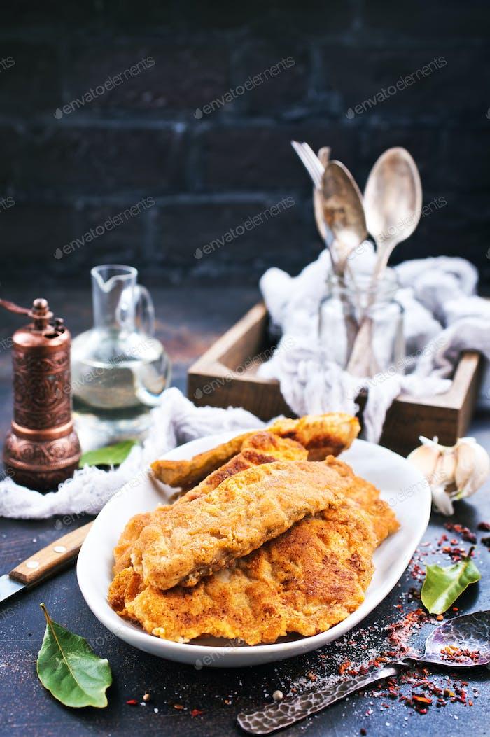 fried fish fillets