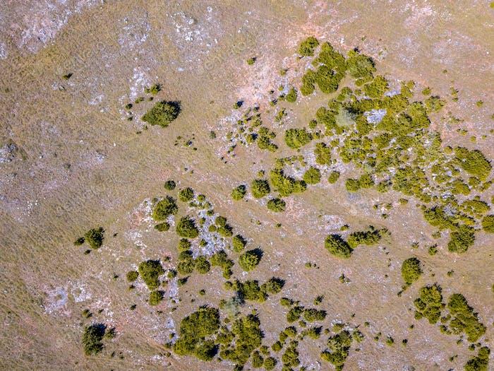 Aerial view Cevennes
