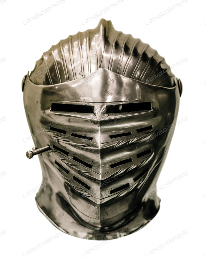 Medieval Knights Armour Helmet