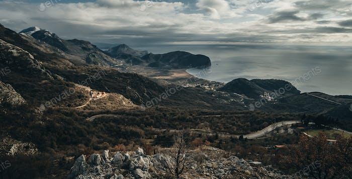 Montaña y bosque en Montenegro