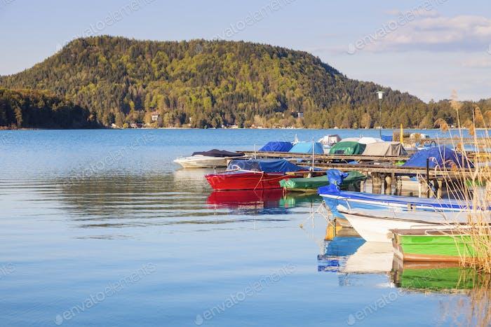 Horizontal por el lago Faak