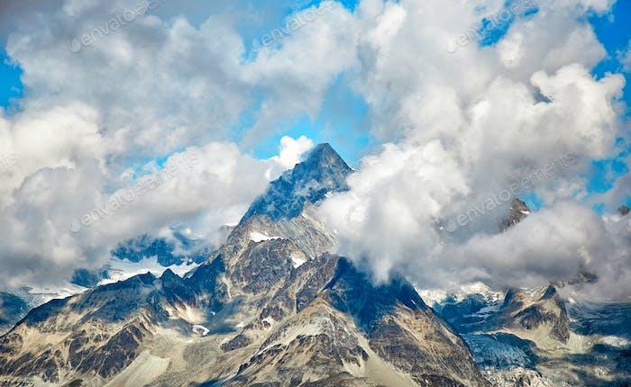 Landschaft des Matterhorns, Schweizer Alpen